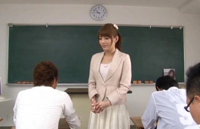 Rio Japanese model is getting fucked hard in school