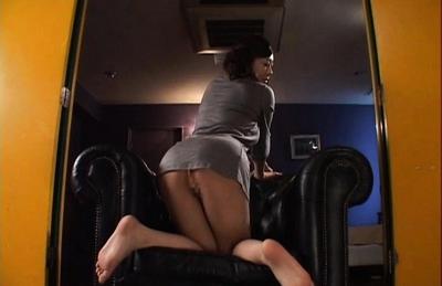 Minori Hatsune Asian model in sexy lingerie has a perfect round ass