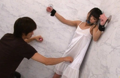 Chika Ishihara Lovely Japanese model is tied and her pussy is licked