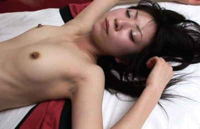 Japanese AV model is a beauty showing off her hot ass and gets a facial