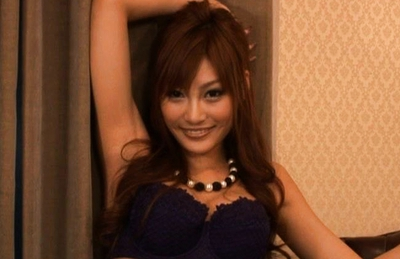 Kirara Asuka Hot Asian doll shows off her body and fondles herself