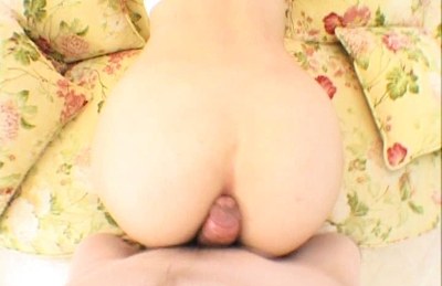 Ami Lovely Japanese chick shows off her round ass while sucking cock