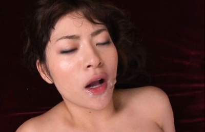 Megu Fujiura Asian model getting a hard fucking