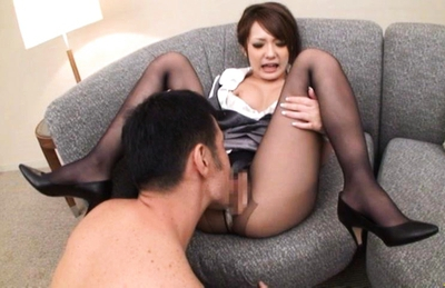 Sena Aragaki Asian office girl is fucked from behind