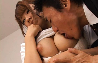 Buruma Aoi Japanese gets her wet beaver fingered and sucks cock