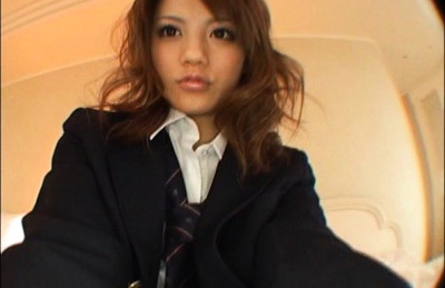Risa Tsukino is fucked really hard while wearing a sexy school uniform