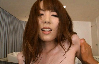 Yui Hatano Japanese model gets her juicy pussy fingered