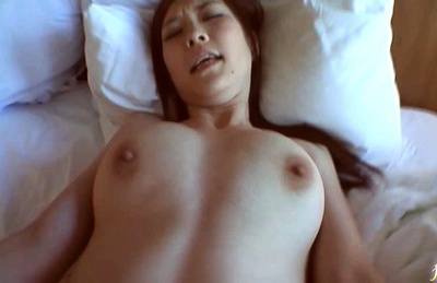 Big titted Katone Amamiya enjoys some pov blowjob and fucking