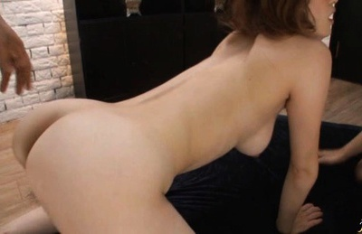 Erina Shirase being fucked harsh by two horny dudes