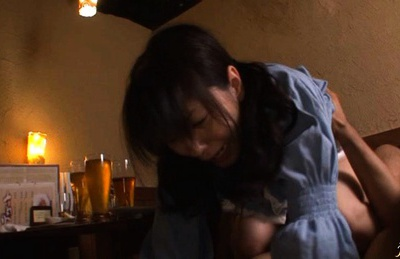 Sexy amateur Yuma Asami gets fucked hard in different positions.