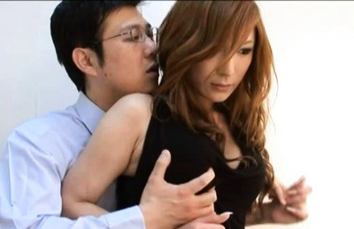 Natsu Ando´s Huge Tits Are Perfect To Grab On To