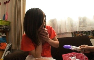 Japanese model sucking dick like no other!