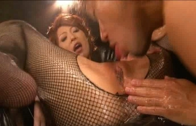 Jun Kusanagi Pretty Asian Doll Gets Her Pussy Pounded With Big Pink Toy