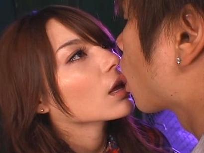 Tina Yuzuki Naughty Asian model Enjoys A Cock Ride On Her Boyfriend