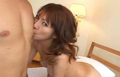 Kaede Matsushima Sexy Asian Model enjoys some hard fucking