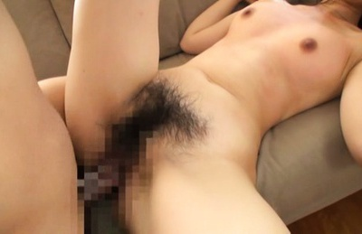 Super Hairy Korean Pussy Gets Fingered