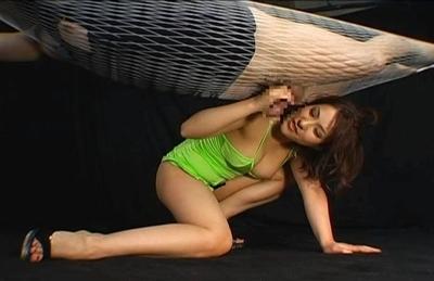 Nao Ayukawa Lovely Asian doll gives a sexy blowjob