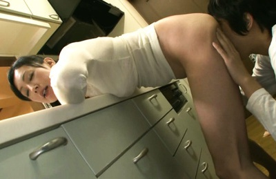 Dildo drills wet cunt of mature Asian housewifeAyumi Takanashi