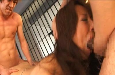 Honami Takasaka Asianmodel is fucked hard in jail
