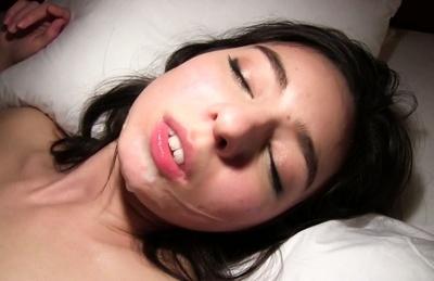 Glorious Asian sex idol Karina Nishida has perfect sex with active guy