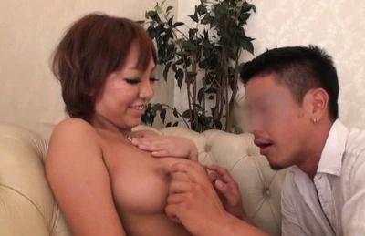 Beautiful asian beauty moans for pecker