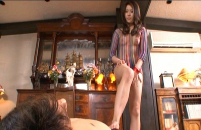 Hot Asian gal gets her pussy licked