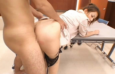 Nao Yoshizaki Lovely JApanese model enjoys riding on hard cock