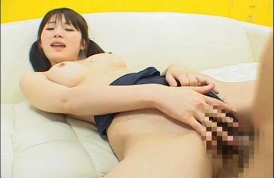 Saki Tsuji Asian chick rides on a cock