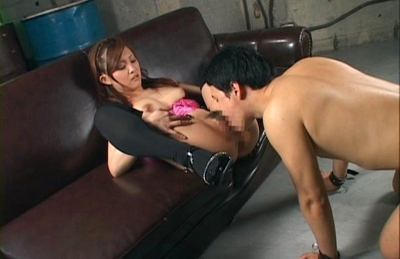 Suzuka Ishihara Asian babe gets her pussy covered in sticky cum