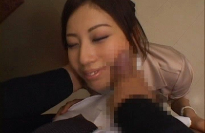 Miyuki Yokoyama spreads her sexy legs and shows her hot pussy